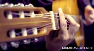 tocar guitarra clasica